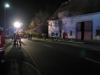Wohnungsbrand in Göggingen