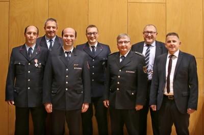 Hauptversammlung der Feuerwehr der Gesamtgemeinde