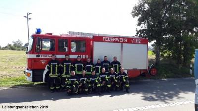 Zwei Krauchenwieser Gruppen bestehen Leistungsabzeichen Silber in Sauldorf