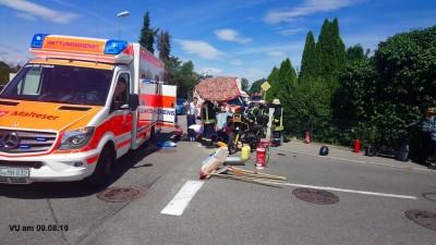 2 Schwerverletzte und hoher Sachschaden