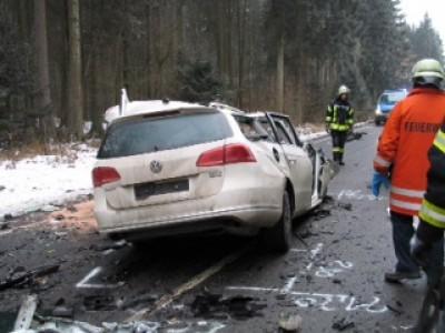 Verkehrsunfall auf der L 456